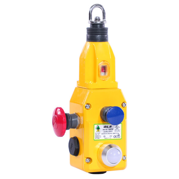 safety rope pull switch