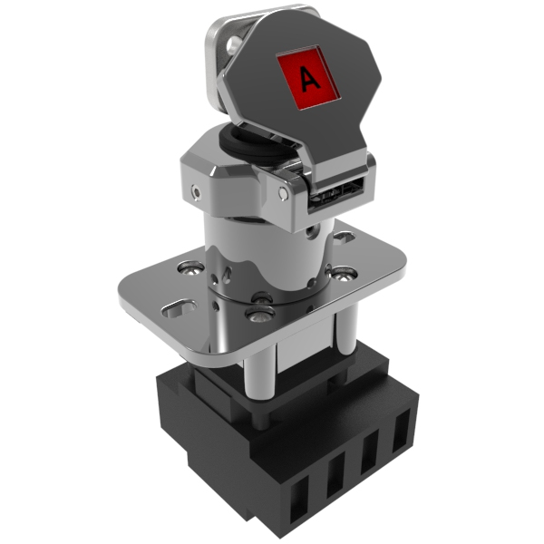 Trapped Key Isolation Control Switch Panel Mount