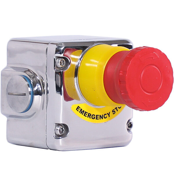 Stainless Steel IP69K Emergency Stop Switch