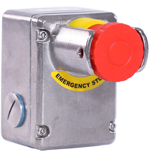 Stainless Steel IP69K Emergency Stop Switch with Shroud