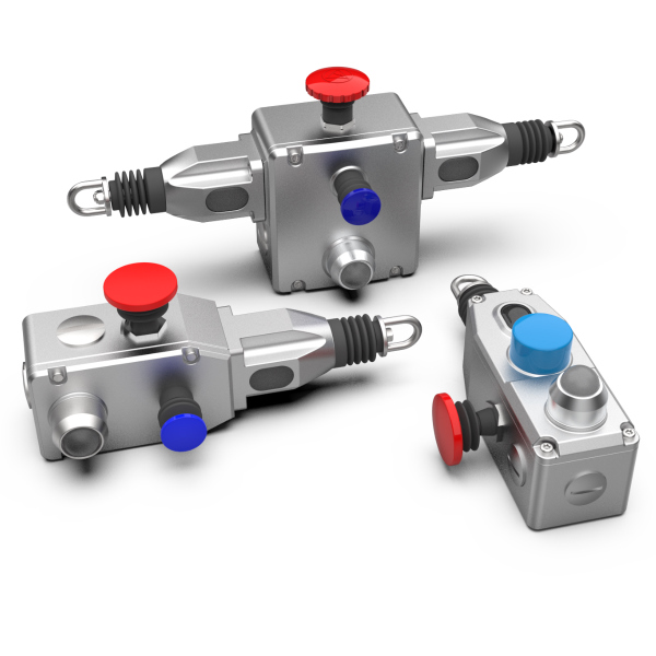 Guardian Line Series Grab Wire Safety Rope Switches (Stainless Steel)