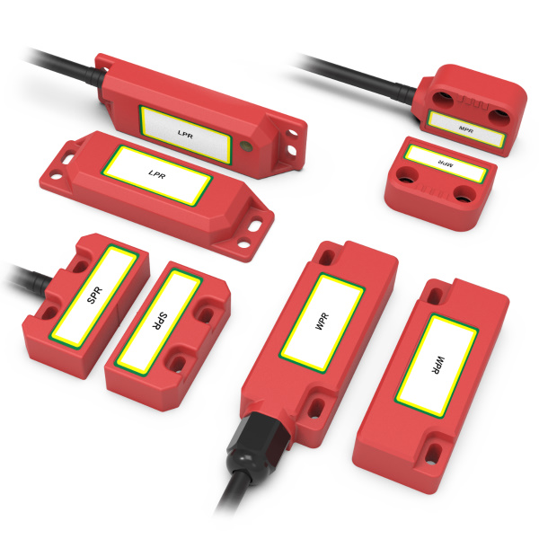 MAGNETIC Non Contact Safety Switches (Plastic)