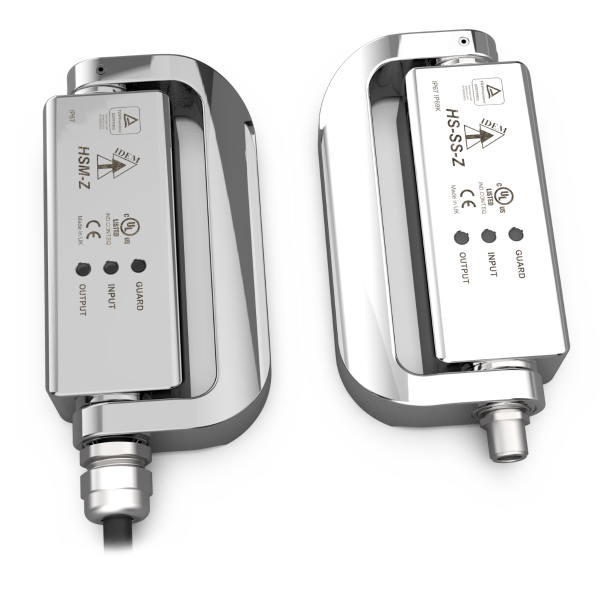 Z-Range Hinge Safety Switches with OSSD Outputs