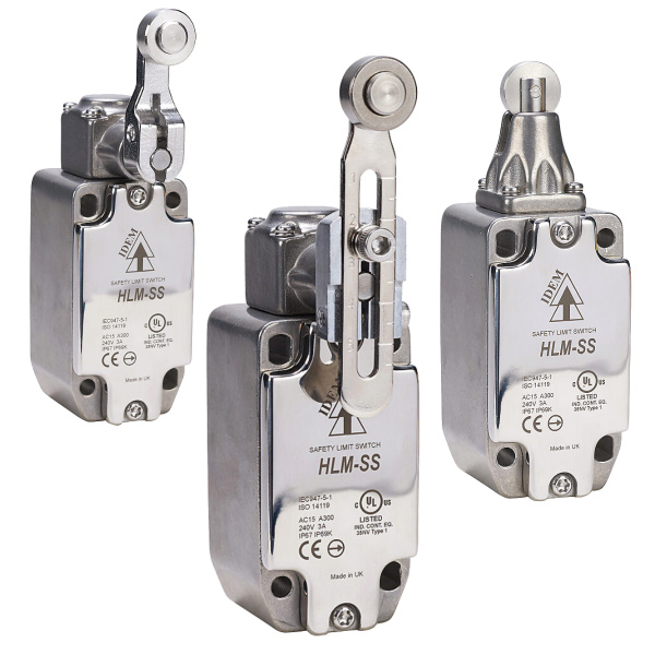 Safety Limit Switches (Stainless Steel)
