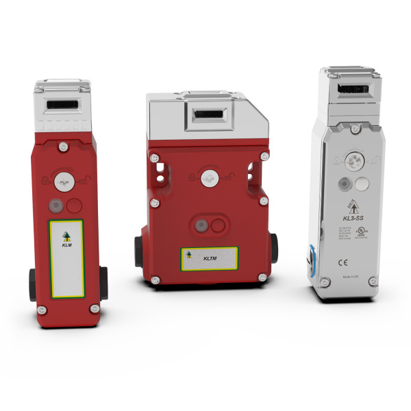 Solenoid Controlled Safety Interlock Switches with Power to Lock
