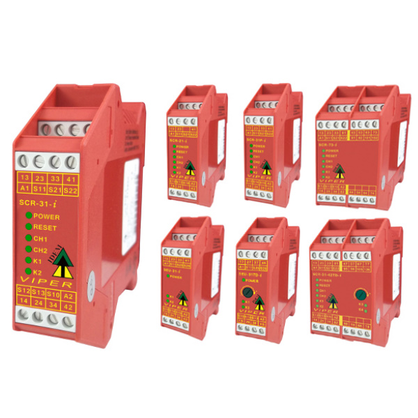 Viper Safety Relays with Added Diagnostics (Next Generation)