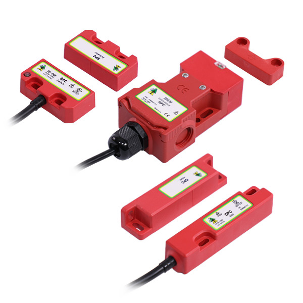 CODED MAGNETIC Safety Interlock Switches (Plastic)